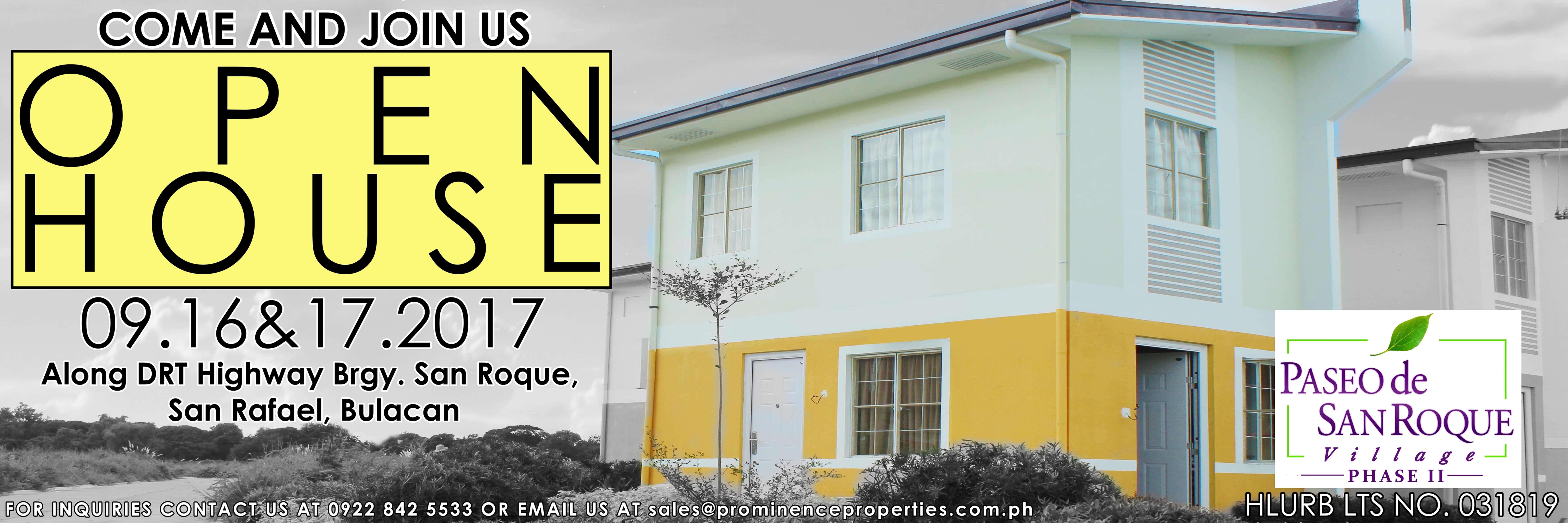 Paseo De San Roque Village Phase 2 Open House