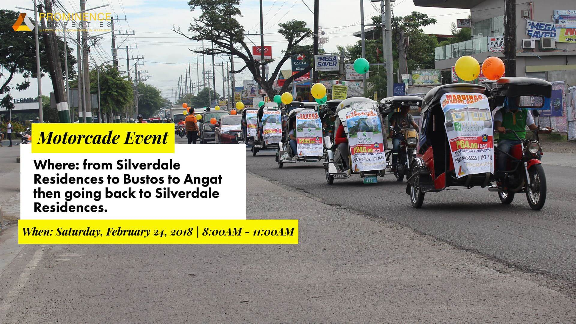 Motorcade Event (Baliuag-Bustos-Angat)