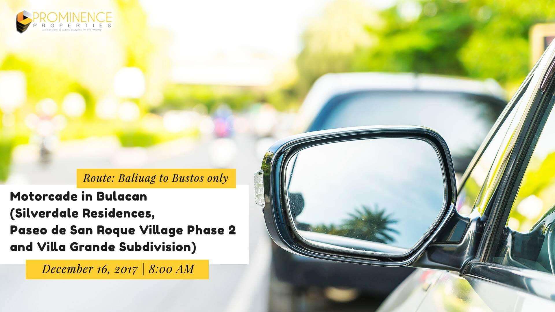 Yea-End Motorcade 2017 (Baliuag-Bustos)