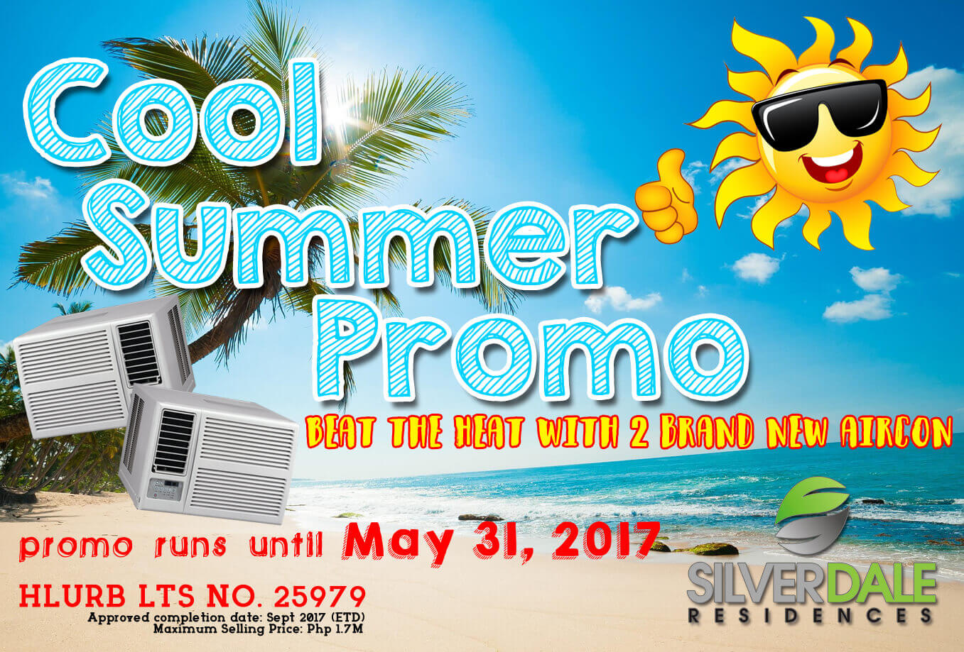 Silverdale Residences Cool Summer Promo