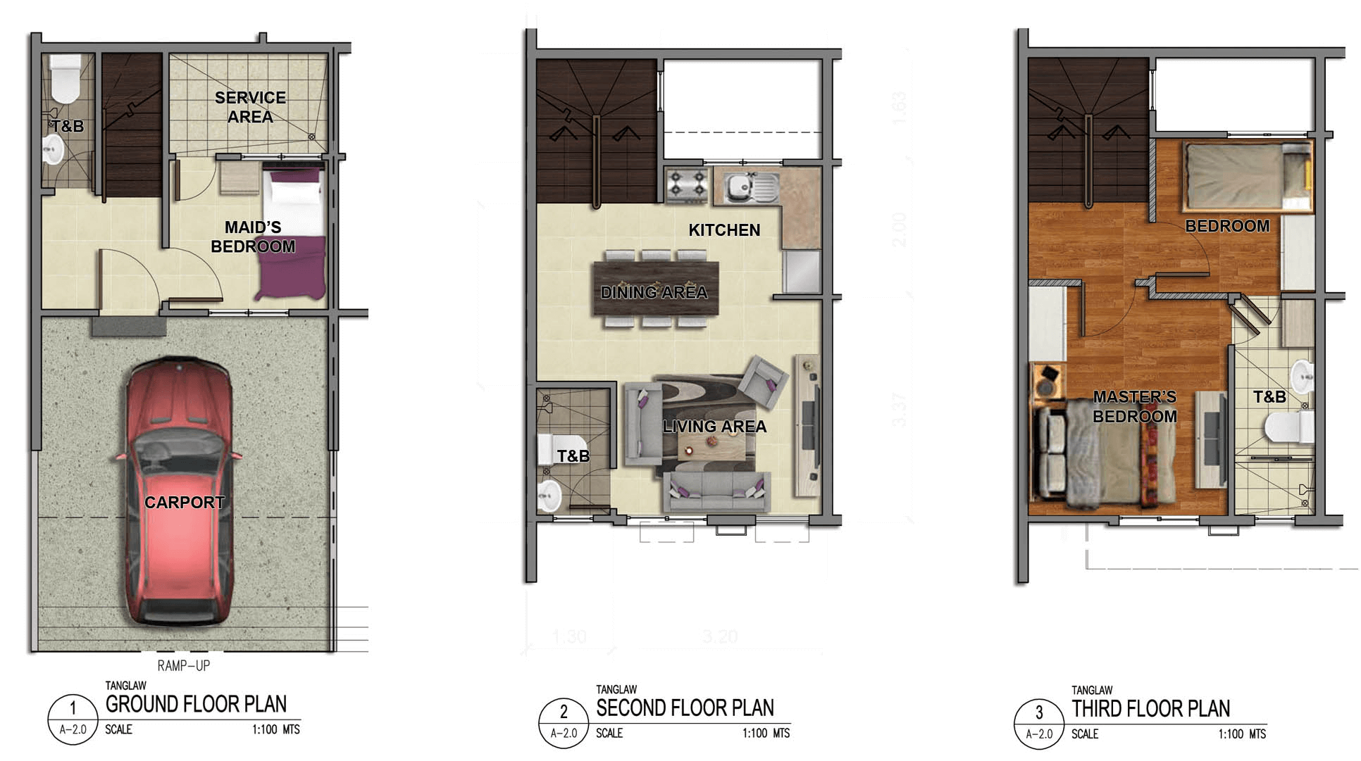 Tanglaw Residences Floor Plan