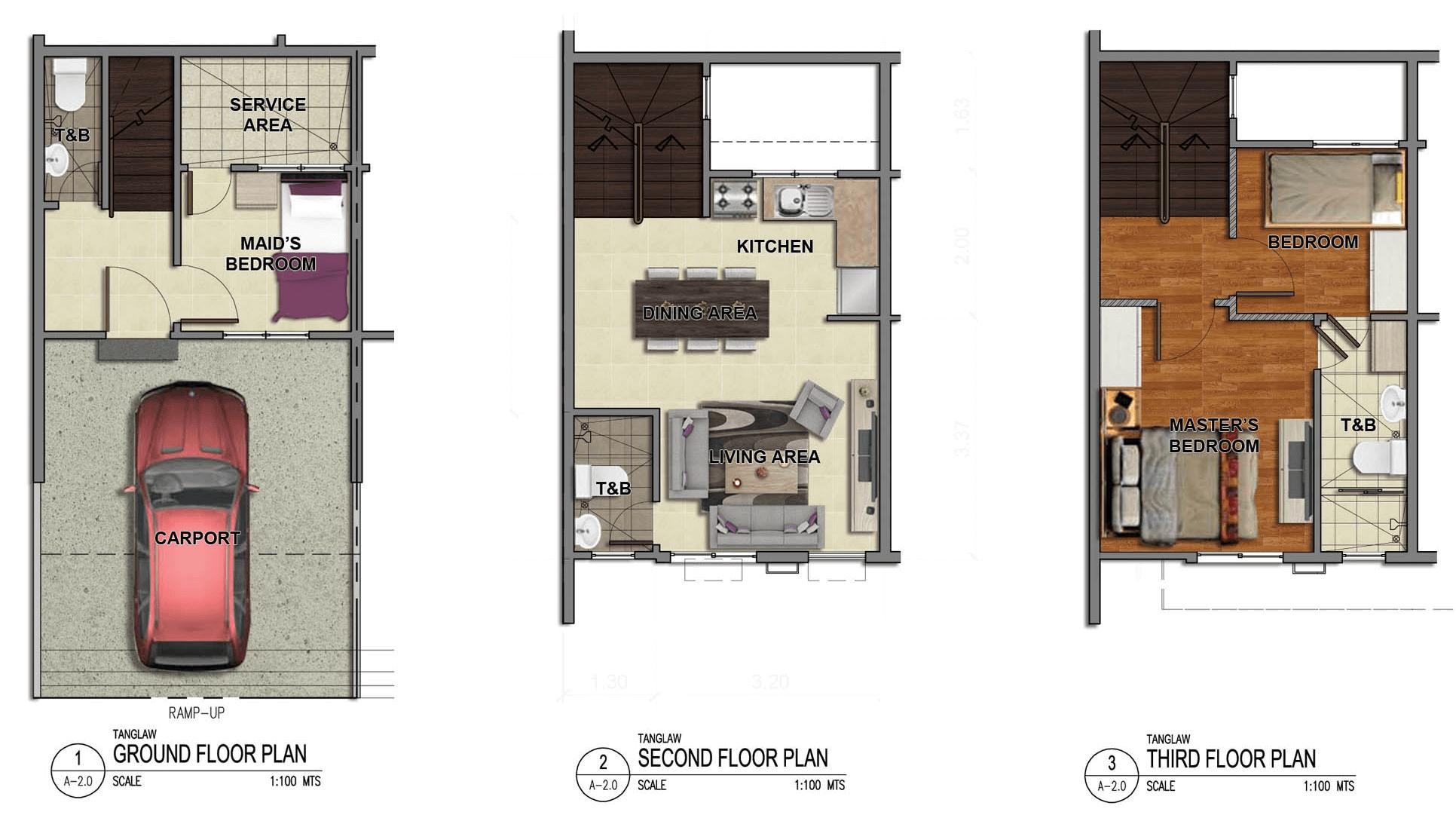 Tanglaw Residences Floor Plan